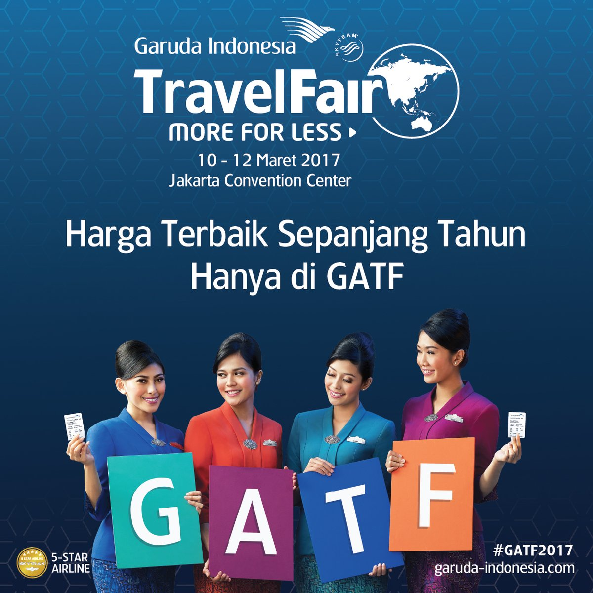 Garuda Indonesia Travel Fair (phase 1)