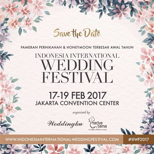 Indonesia International Wedding Fair 2017