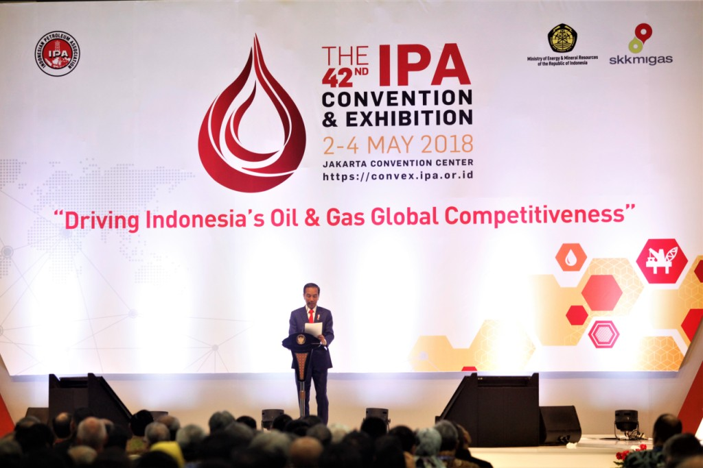 "Konvensi dan Pameran IPA ke-42 Tahun 2018: ""Driving Indonesia's Oil and Gas Global Competitiveness"""