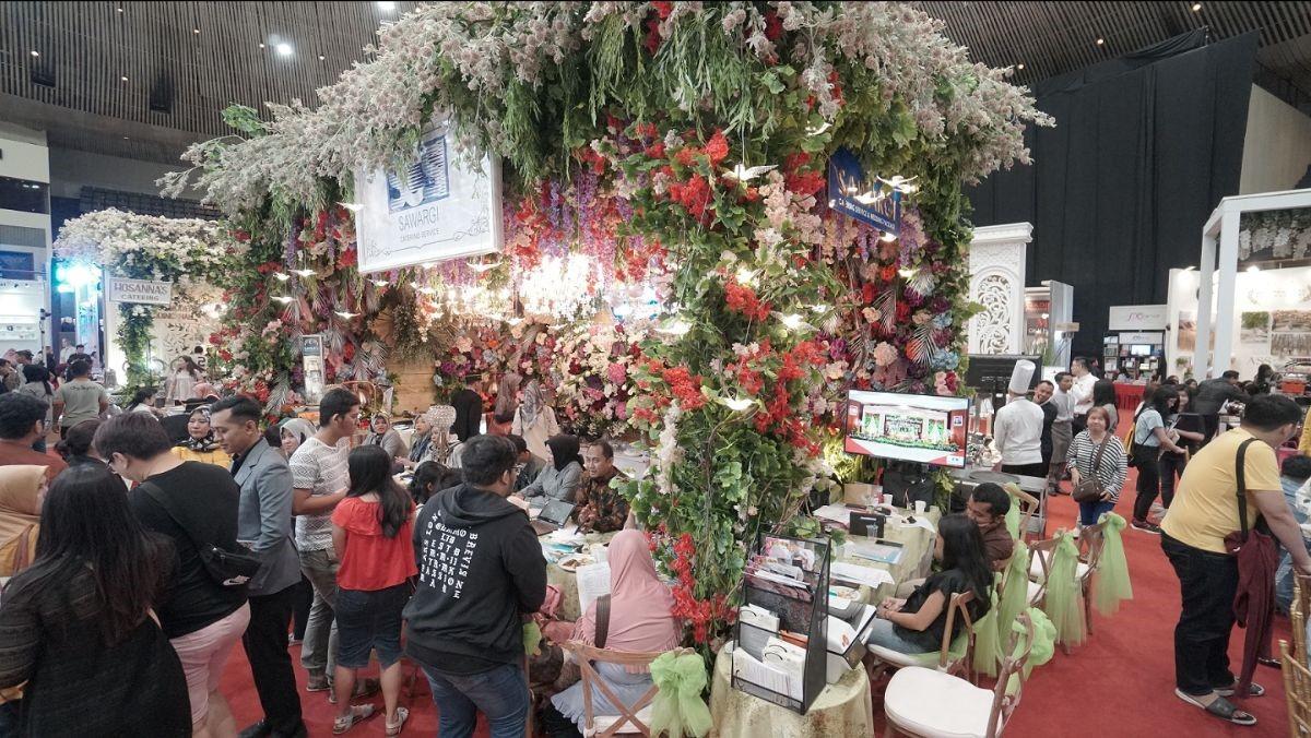Indonesia Dream Wedding Festival (IDWF) 2020: Antusiasme Calon Pengantin di Pameran IDWF 2020