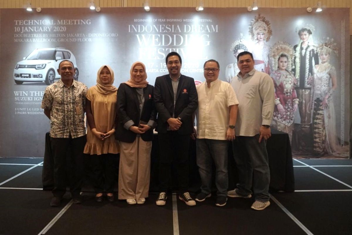 Indonesia Dream Wedding Festival (IDWF) 2020: Tunjukan Identias Diri Melalui Pernikahan Idaman di Indonesia Dream Wedding Festival 2020