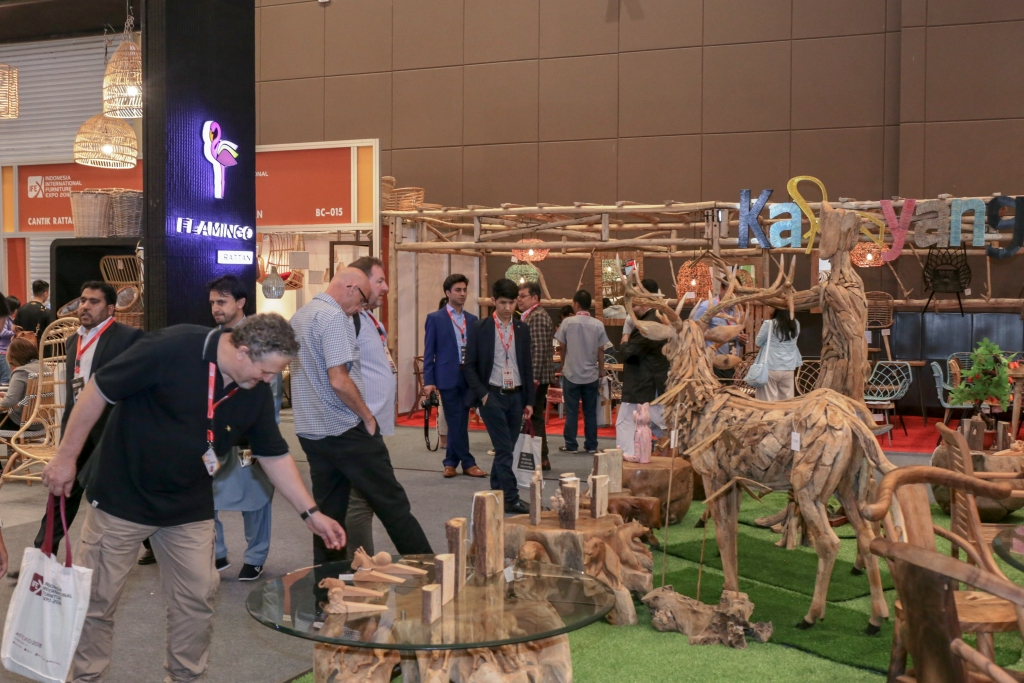Indonesia International Furniture Expo 2019 IFEX Dorong Nilai Ekspor Industri Mebel dan Kerajinan