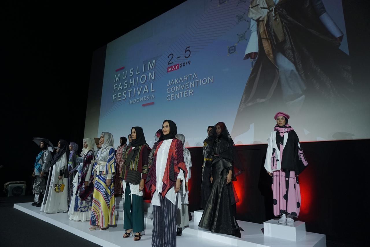 Muslim Fashion Festival Indonesia (MUFFEST) 2019 Deklarasi Indonesia Siap Menjadi Kiblat Fashion Muslim Dunia