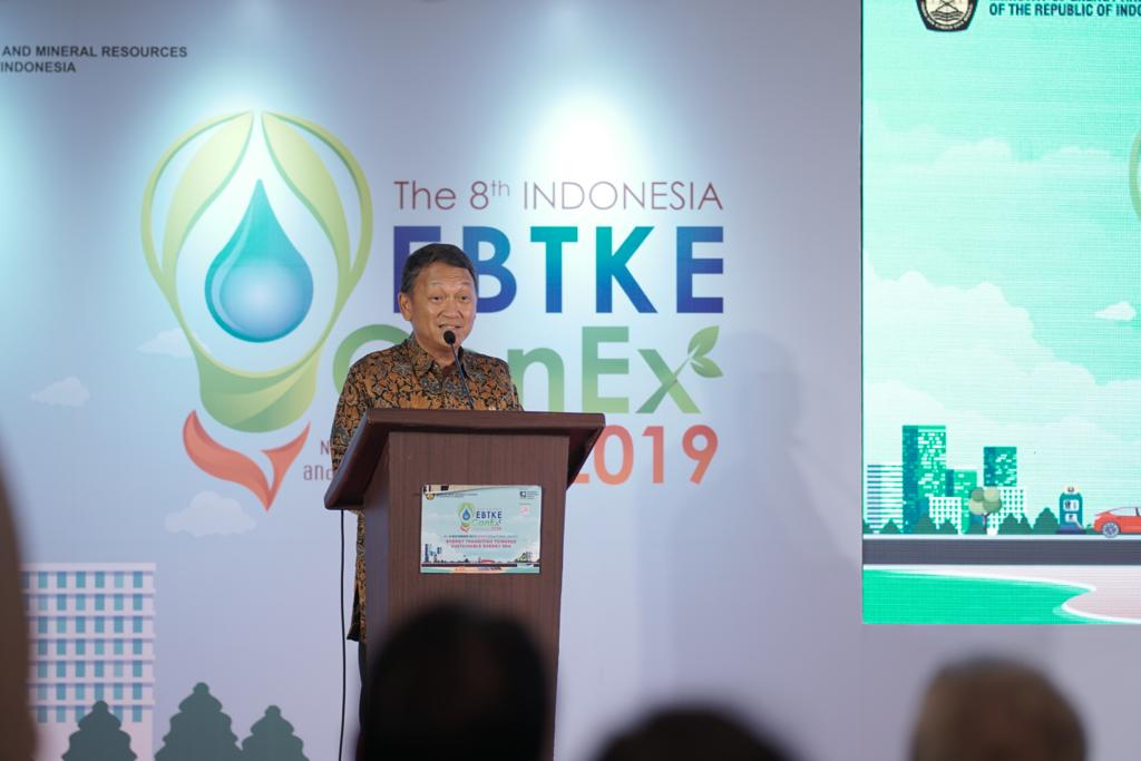 The 8th Indo EBTKE ConEx 2019: Upaya Konsisten METI Kembangkan Energi Baru Terbarukan  Demi Masa Depan yang Lebih Baik
