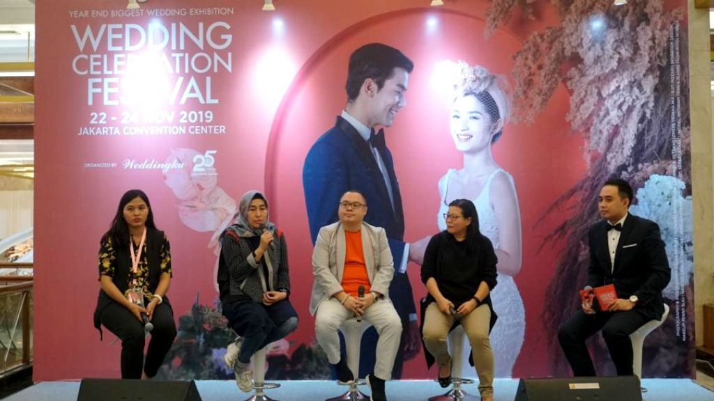 Wedding Celebration Festival 2019: Year End Biggest Wedding Exhibition Paket Lengkap Kebutuhan Pernikahan di Wedding Celebration Festival 2019