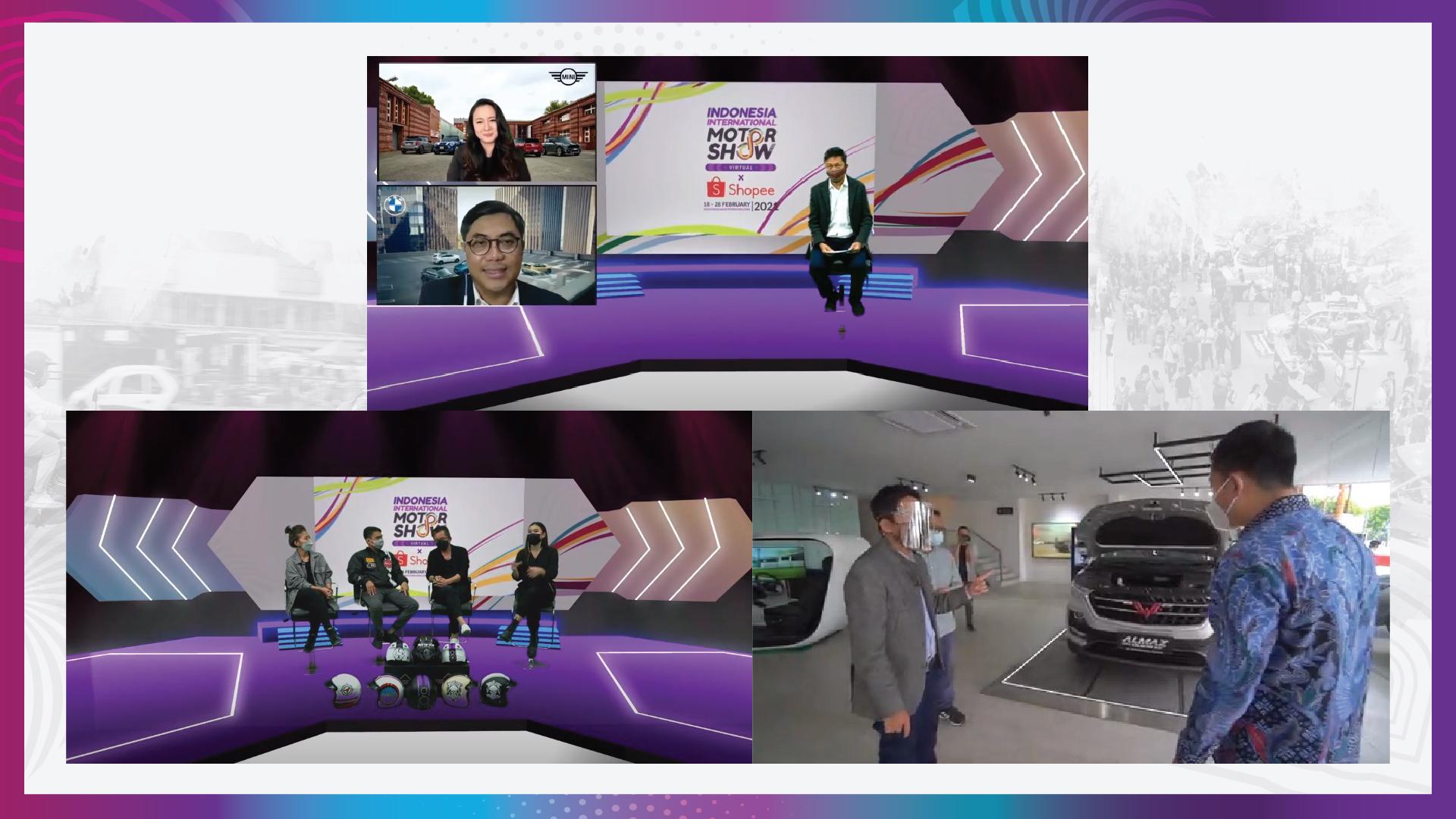 Belanja Mobil, Motor dan Aksesoris Makin Mudah, Hingga Kesempatan Menangkan Beragam Hadiah di IIMS Virtual 2021 x Shopee