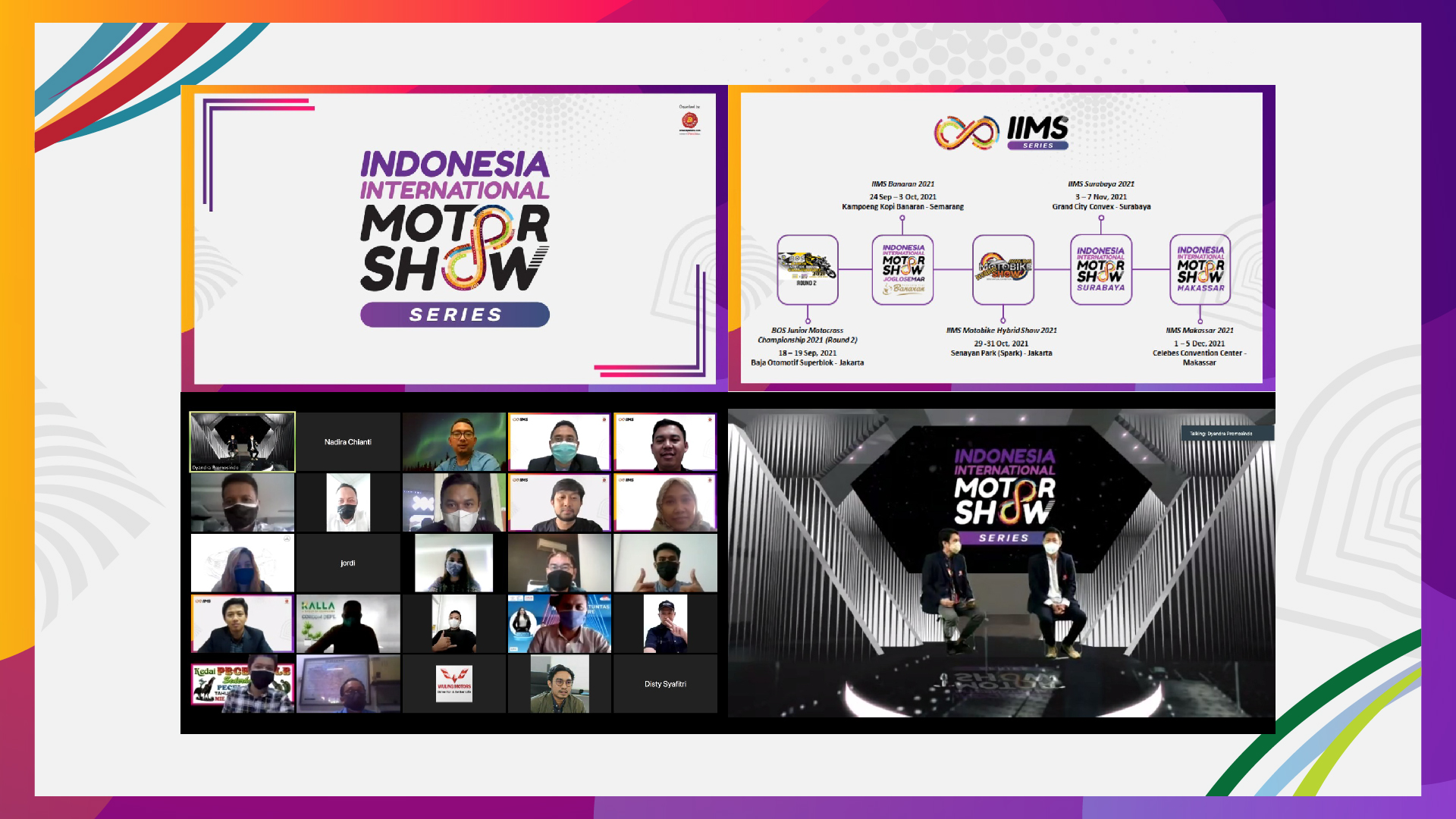Dedikasi terhadap Industri Otomotif,  Dyandra Promosindo persembahkan  Indonesia International Motor Show Series