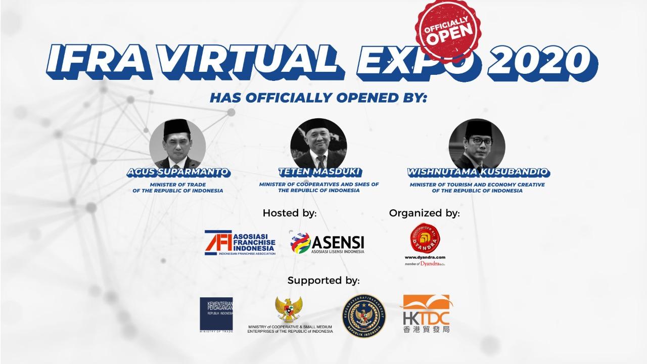 IFRA : Fasilitasi Pertumbuhan Bisnis Waralaba dan Lisensi Indonesia Melalui Pameran Virtual