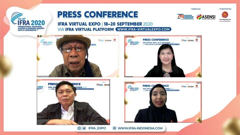 IFRA : Peluang Bisnis Baru Dalam Pameran Virtual Perdana