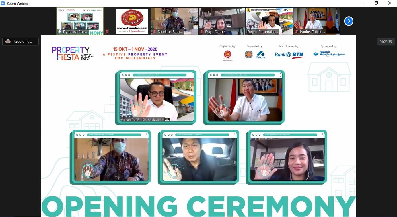 Property Fiesta Virtual Expo 2020 : Siap Hadirkan Ragam Proyek Hunian dan Investasi Untuk Menggiatkan Perekonomian di Sektor Properti